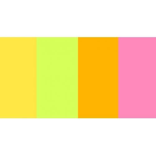 Бумага цв. 4 цвета Neon микс A4 80г. 40л