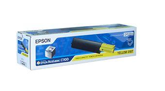 Тонер-картридж Epson S050187 - AcuLaser C1100/CX11N/CX11NF Y*